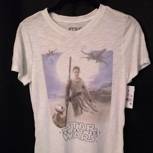 Drop tee sheer style Star Wars Women's double drop